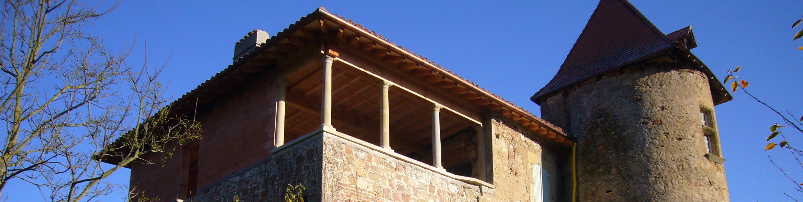 Pâtrimoine ancien, Rénovation maçonnerie taille de pierre