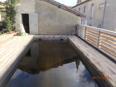 Lectoure terrasse de piscine en traverse de chemin de - Traverse de chemin de fer prix ...