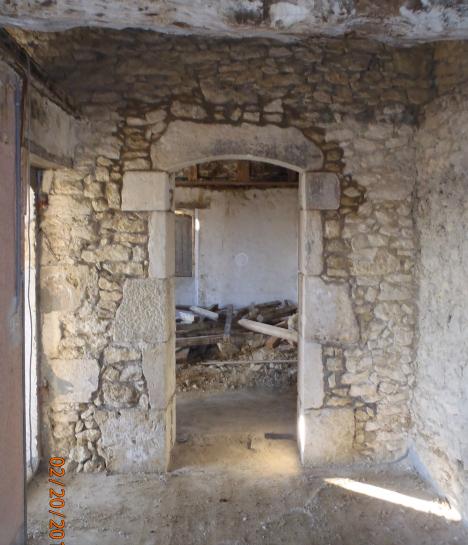 Ma onnerie ancienne r novation restauration b tisseurs - Encadrement fenetre interieur ...